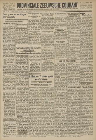 Provinciale Zeeuwse Courant 1945-10-31