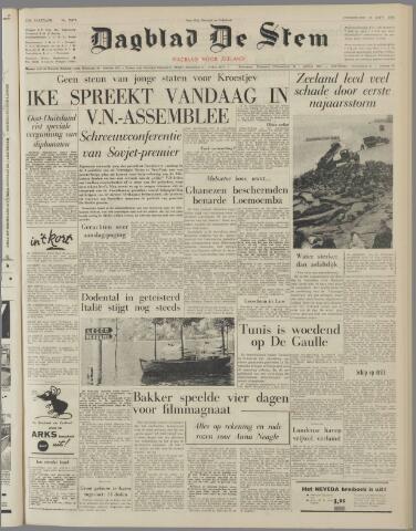 de Stem 1960-09-22