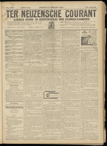 Ter Neuzensche Courant. Algemeen Nieuws- en Advertentieblad voor Zeeuwsch-Vlaanderen / Neuzensche Courant ... (idem) / (Algemeen) nieuws en advertentieblad voor Zeeuwsch-Vlaanderen 1934-02-16
