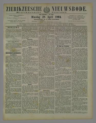 Zierikzeesche Nieuwsbode 1903-04-28