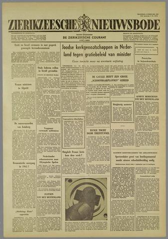 Zierikzeesche Nieuwsbode 1960-02-08