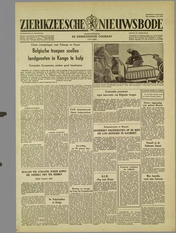 Zierikzeesche Nieuwsbode 1960-07-11