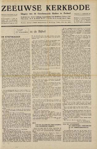 Zeeuwsche kerkbode, weekblad gewijd aan de belangen der gereformeerde kerken/ Zeeuwsch kerkblad 1949-02-11