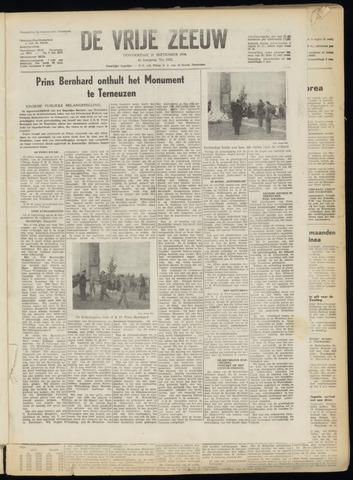 de Vrije Zeeuw 1950-09-21