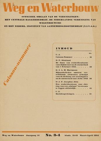 Watersnood documentatie 1953 - tijdschriften 1954-03-01