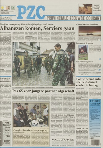 Provinciale Zeeuwse Courant 1999-06-18