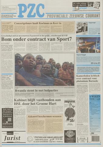 Provinciale Zeeuwse Courant 1996-11-09