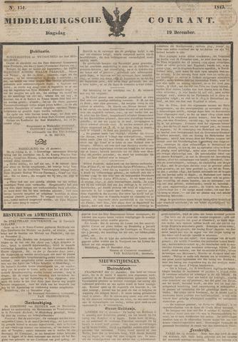 Middelburgsche Courant 1843-12-19
