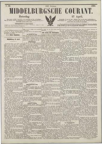 Middelburgsche Courant 1901-04-27