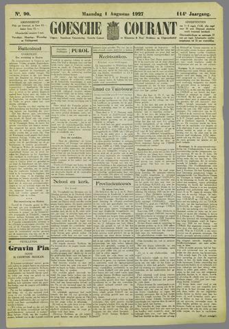 Goessche Courant 1927-08-01