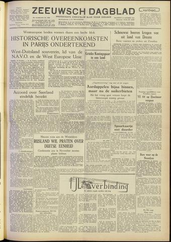 Zeeuwsch Dagblad 1954-10-25