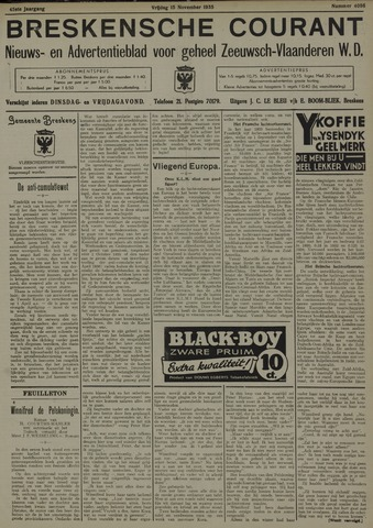 Breskensche Courant 1935-11-15