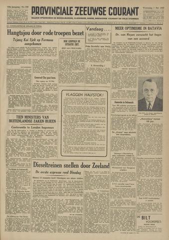Provinciale Zeeuwse Courant 1949-05-04