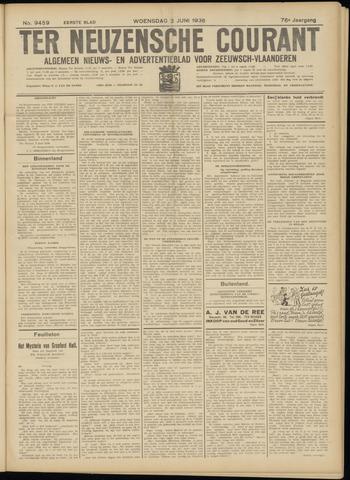 Ter Neuzensche Courant. Algemeen Nieuws- en Advertentieblad voor Zeeuwsch-Vlaanderen / Neuzensche Courant ... (idem) / (Algemeen) nieuws en advertentieblad voor Zeeuwsch-Vlaanderen 1936-06-03