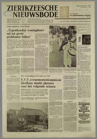 Zierikzeesche Nieuwsbode 1976-10-26