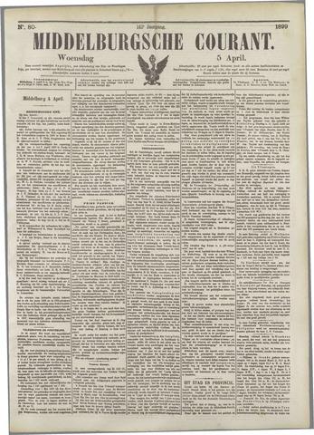 Middelburgsche Courant 1899-04-05