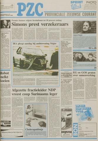 Provinciale Zeeuwse Courant 1992-01-11