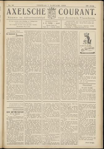 Axelsche Courant 1938-01-07