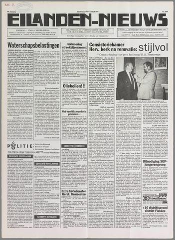 Eilanden-nieuws. Christelijk streekblad op gereformeerde grondslag 1995-11-21
