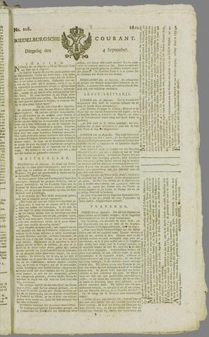 Middelburgsche Courant 1810-09-04