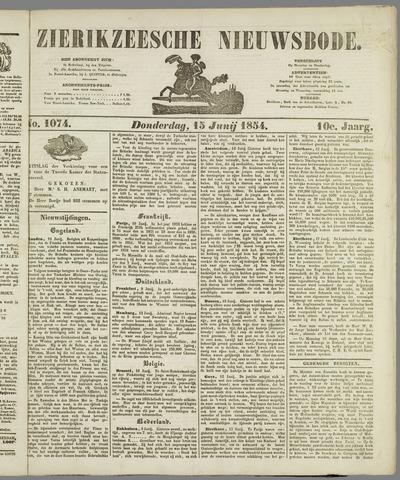 Zierikzeesche Nieuwsbode 1854-06-15