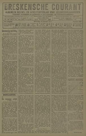 Breskensche Courant 1928-02-22