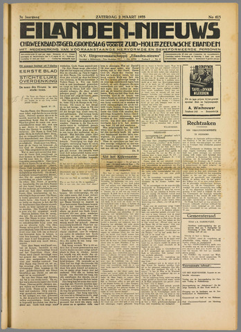 Eilanden-nieuws. Christelijk streekblad op gereformeerde grondslag 1935-03-02