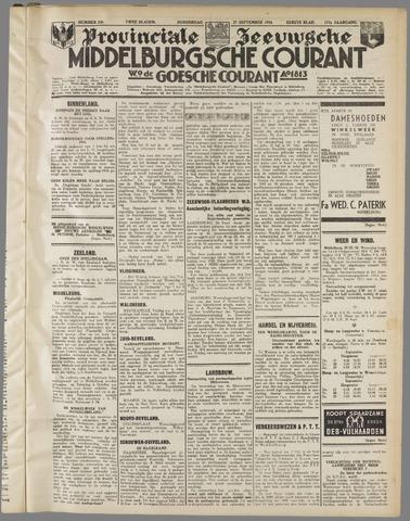 Middelburgsche Courant 1934-09-27