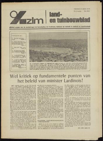 Zeeuwsch landbouwblad ... ZLM land- en tuinbouwblad 1970-04-08