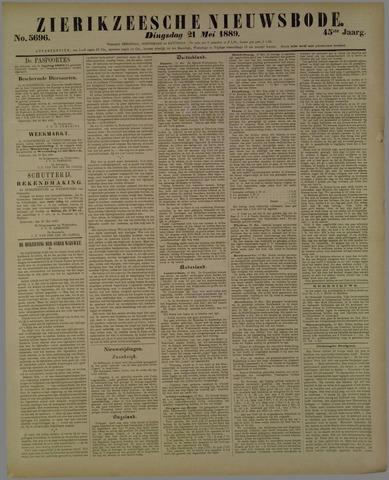 Zierikzeesche Nieuwsbode 1889-05-21