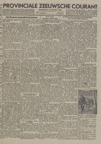 Provinciale Zeeuwse Courant 1943-03-15