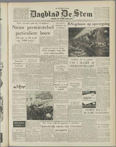 de Stem 1958-02-14