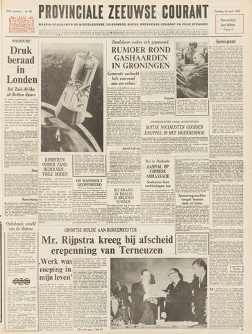 Provinciale Zeeuwse Courant 1966-04-16