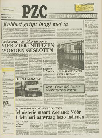 Provinciale Zeeuwse Courant 1977-01-22