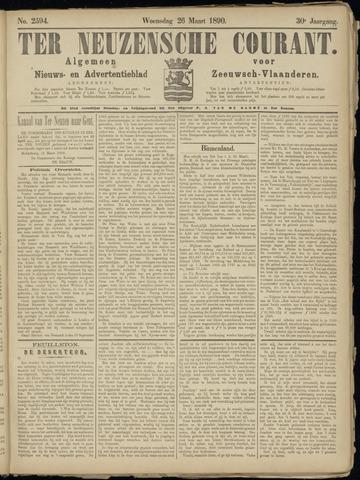 Ter Neuzensche Courant. Algemeen Nieuws- en Advertentieblad voor Zeeuwsch-Vlaanderen / Neuzensche Courant ... (idem) / (Algemeen) nieuws en advertentieblad voor Zeeuwsch-Vlaanderen 1890-03-26