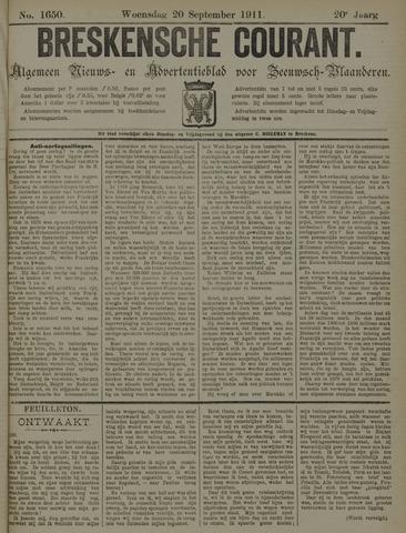 Breskensche Courant 1911-09-20