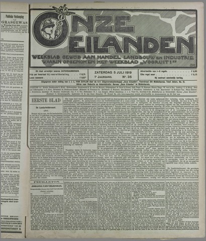 Onze Eilanden 1919-07-05