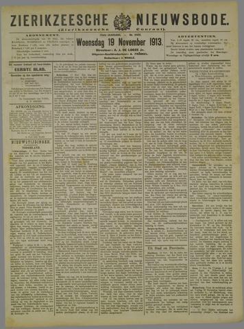 Zierikzeesche Nieuwsbode 1913-11-19