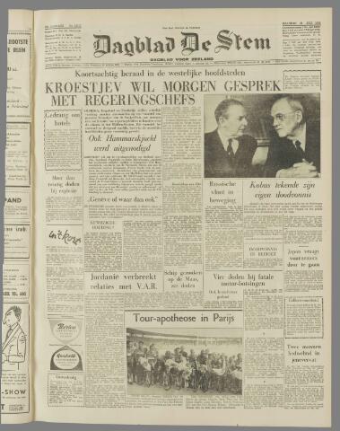 de Stem 1958-07-21