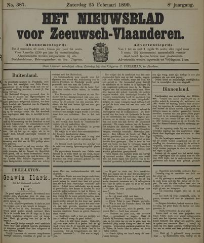 Nieuwsblad voor Zeeuwsch-Vlaanderen 1899-02-25