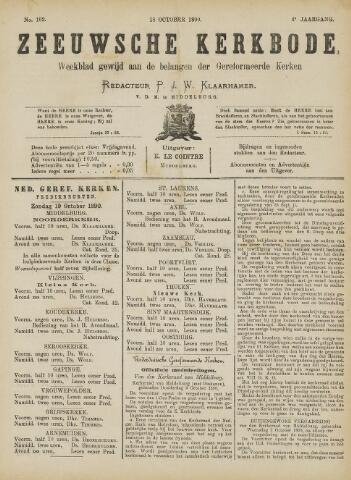 Zeeuwsche kerkbode, weekblad gewijd aan de belangen der gereformeerde kerken/ Zeeuwsch kerkblad 1890-10-18