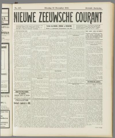 Nieuwe Zeeuwsche Courant 1911-12-12