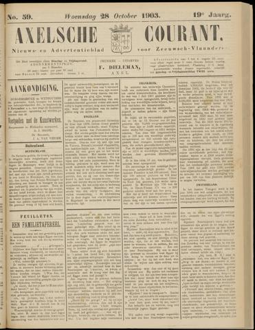 Axelsche Courant 1903-10-28