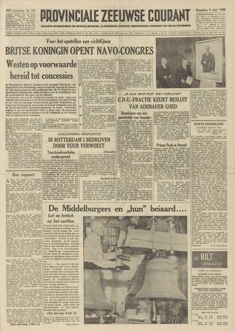 Provinciale Zeeuwse Courant 1959-06-06
