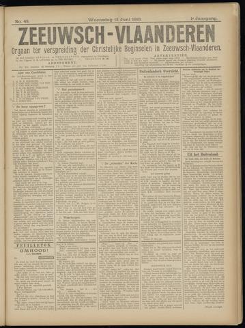 Luctor et Emergo. Antirevolutionair nieuws- en advertentieblad voor Zeeland / Zeeuwsch-Vlaanderen. Orgaan ter verspreiding van de christelijke beginselen in Zeeuwsch-Vlaanderen 1918-06-12