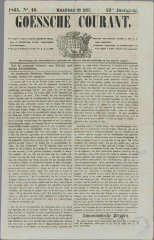 Goessche Courant 1865-05-22