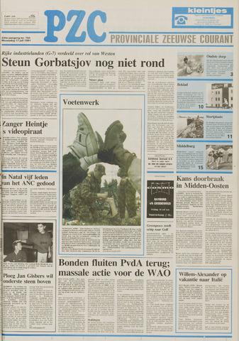 Provinciale Zeeuwse Courant 1991-07-17