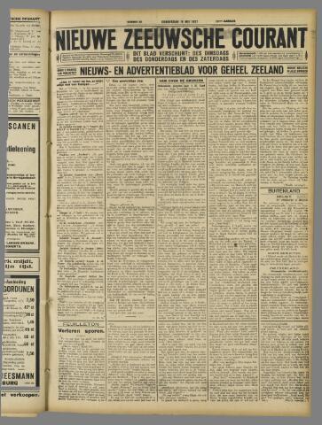 Nieuwe Zeeuwsche Courant 1927-05-19