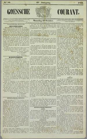Goessche Courant 1862-10-13