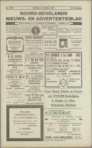 Noord-Bevelands Nieuws- en advertentieblad 1936-10-24